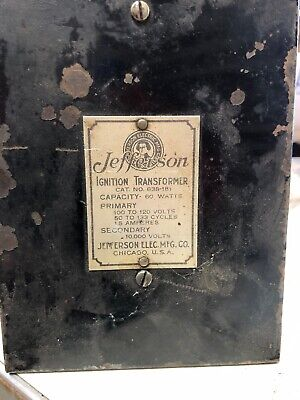 Jefferson Ignition Transformer
