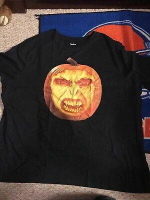 Voldermort's Face On A Pumpkin T-Shirt 5XL, Halloween, EUC, Unique, King's Size - Unique Halloween Shirts