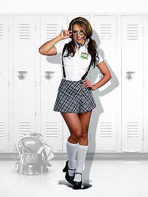 Sexy Dreamgirl Adult Women's Halloween Nerdy to Naughty Schoolgirl - Nerdy School Girl Costumes