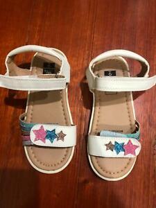 Toddler girls sandals size 9