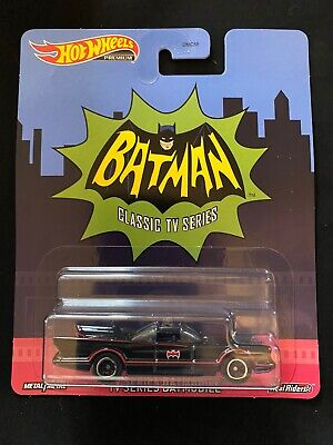 2020 Hot Wheels Premium Retro Entertainment - TV Series Batmobile New Near Mint