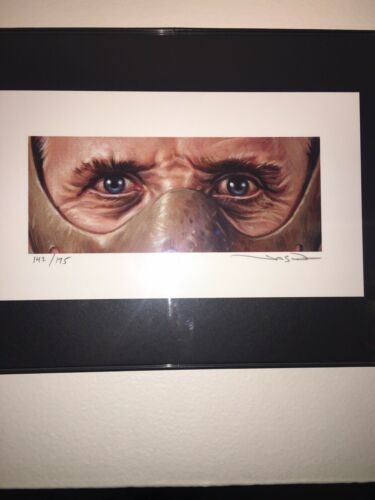 Jason Edmiston Art Print Eyes Horror EWAF Silence Of The Lambs Hannibal Lectre - $90.00