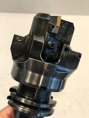 Boring Head 3.5 Diameter With Parlec C40-75sm1 Cat40 Tool Holder