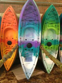 Australian made Sit-On-Top Kayak. 10-year warranty