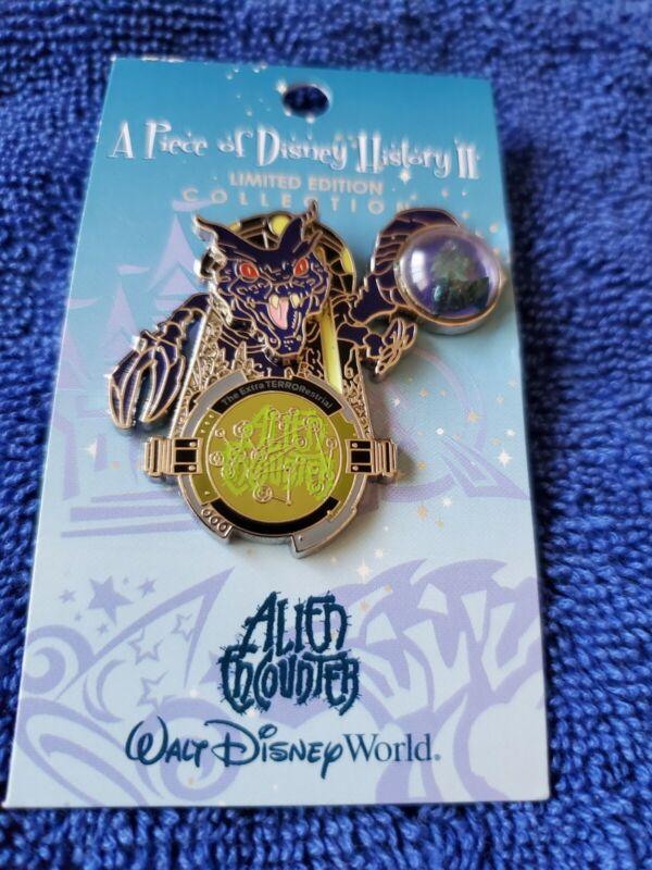 Disney 2006 WDW Piece of History  ExtraTERRORestrial ALIEN ENCOUNTER  LE Pin