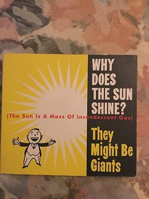 Why Does The Sun Shine   Ep  By They Might Be Giants  Cd  Sep 1993  Elektra