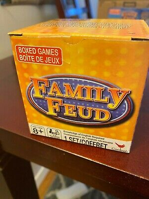 Family Trivia Games (Family Feud Trivia Box Card Game. BRAND NEW! 57)