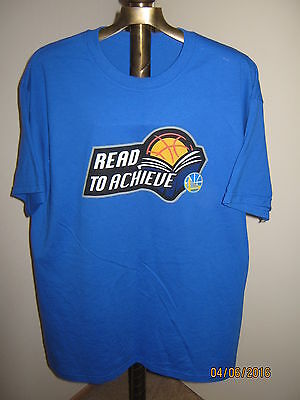 Golden State Warriors T Shirt Mens  Xl  Blue Nwo  Read To Achieve  Ross Stores