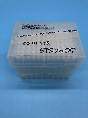 Rainin 1000 Ul Precision Pipette Tips 96 Tipsrack Model Rt-1000f
