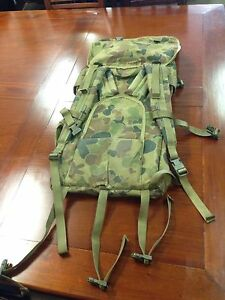 Ex Military Backpack Army Surplus Inala Brisbane South West Preview