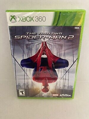 The Amazing Spider-Man 2 Microsoft Xbox 360 NEW *Factory Sealed! *Free Shipping!