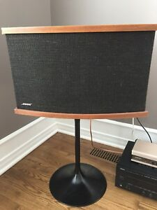 Bose Speakers 901 Series V with equalizer and tulip stand
