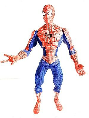 "Marvel Spiderman 10"" Action Figure Articulated 2006 Hasbro Spider-Man 3 Movie"