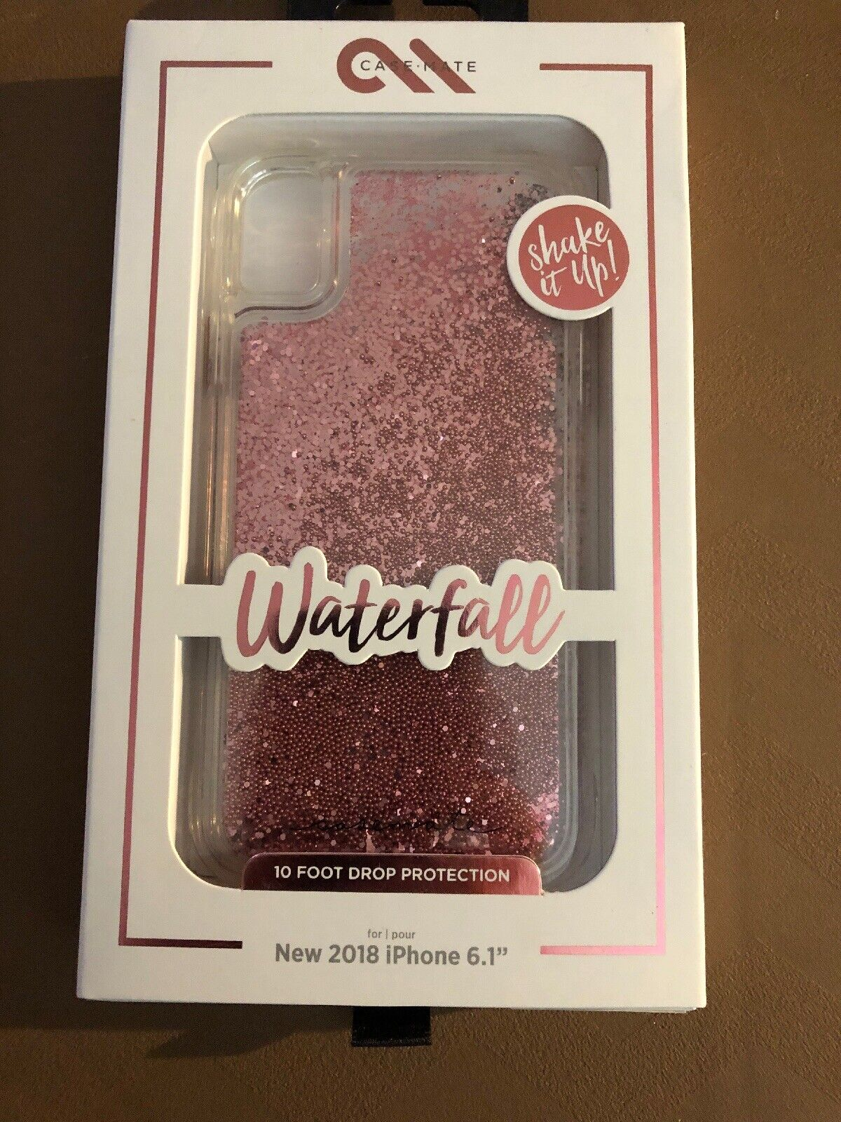 Case-Mate - iPhone XR Case - WATERFALL - iPhone 6.1 - Rose G