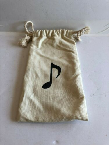 Naruto 2002 Music Clan Canvas Bag Draw String Cosplay accessory