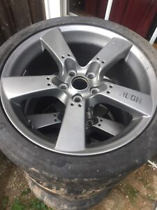 18x8 rims 5x114 with bfg g force R1 tires