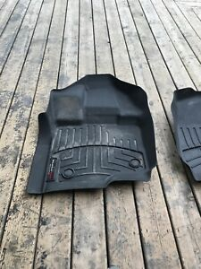 Ford F-150 weather tech front matts