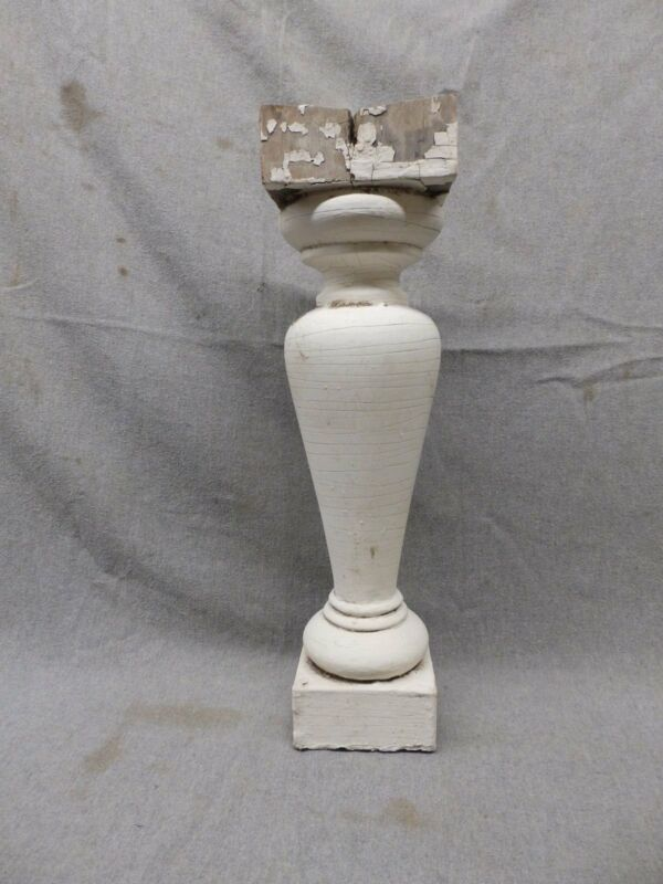 1 Antique Large Architectural Porch Baluster Shabby Spindle Chic Vtg 982-17P