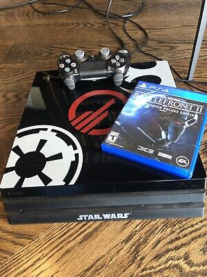 Sony PlayStation 4 PS4 Pro STAR WARS Battlefront II Limited (Game + Controller)