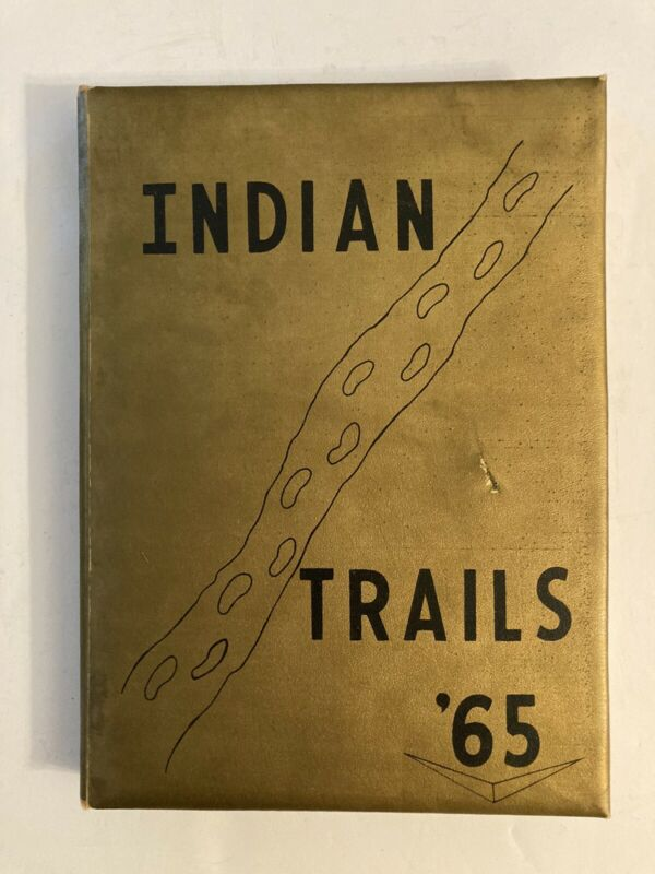 1965 Indianola Mississippi High School Yearbook Indian Trails
