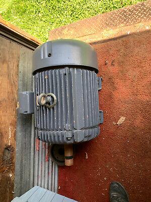 Baldor 50 Hp 230460v 3 Phase Electric Motor 365t Frame 1775 Rpm. Rewound