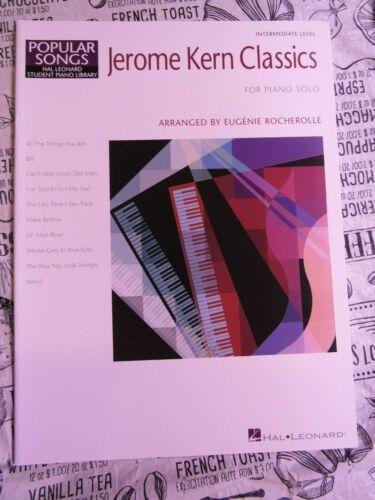 Jerome Kern Classics For Piano Solo - Educational Piano - Piano Book