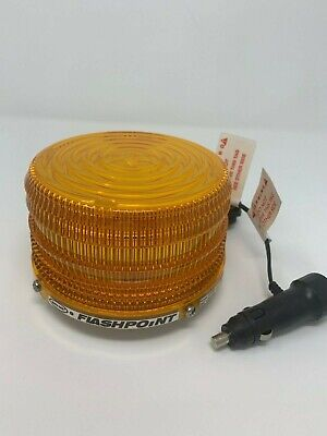 Sho Me Flashpoint 360 Led Beacon Magnetic Mount Amber Start Planning For Winter