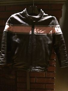 Girls Leather Bike Jacket