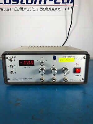 Physik Instrumente P-263 High Voltage 3-channel Power Supply 30day Ror