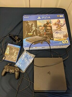 Sony playstation 4 slim 1tb console Bundle **FREE SHIPPING**