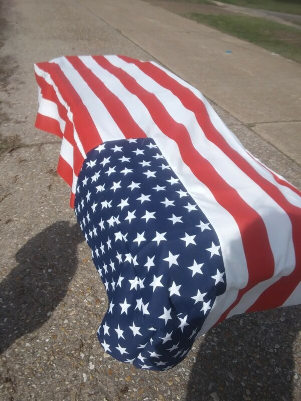 Tender Mercies Quilted Cot Cover Funeral Home Mortuary Full Flag Veteran
