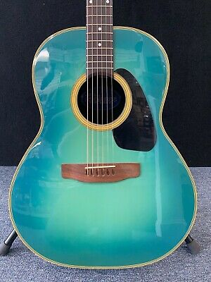Applause by Ovation AA-31 1970's Acoustic Guitar Light Blue Burst w/case