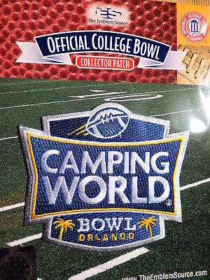 College Football Camping World Bowl 2017 18 Patch Oklahoma State   Virginia Tech