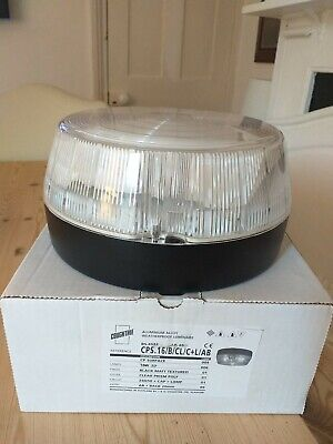 ALUMINIUM ALLOY WEATHERPROOF OUTSIDE LIGHT LAMP BLACK MATT, COUGHTRIE NEW BOXED