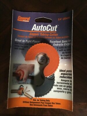 General Specialties Atc-34 Autocut Copper Tubing Cutter