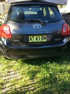 2007 Corolla as is - for spare parts