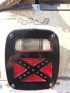 Jeep tail light covers