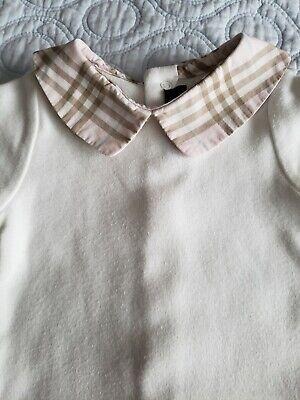 Burberry Baby Girl Body Sz 6 M