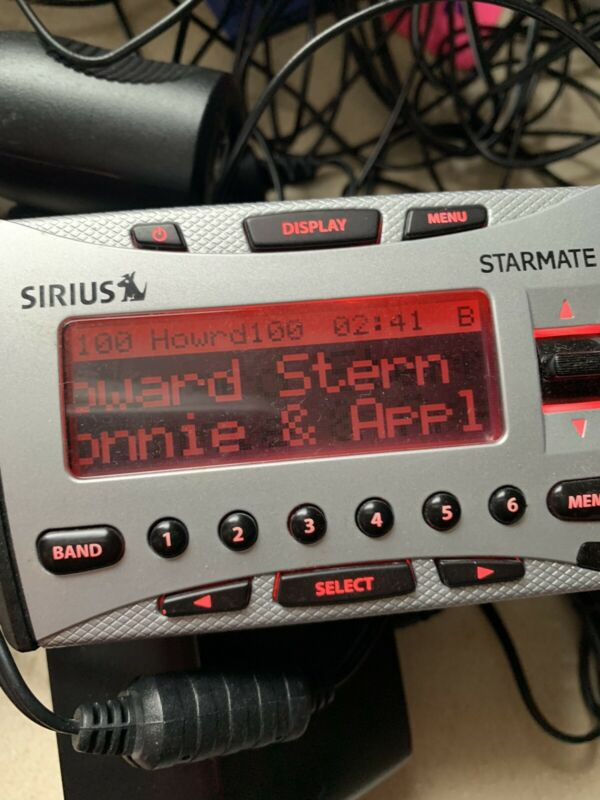 Activated Sirius starmate ST1 Streamer GT XM Satellite RECEIVER Xtr7 ONLY