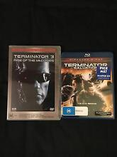 2x Terminator DVD/Blu-Ray Armadale Armadale Area Preview