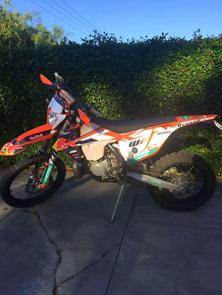 2017 KTM 250 EXC only rode it on my property at Mannum no racing