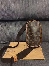 Louis Vuitton Pochette Gange Body bag Monogram Authentic Sumner Brisbane South West Preview