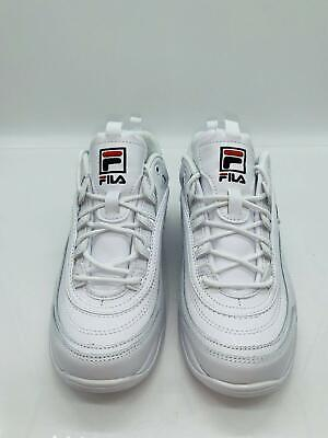 FILA Women's Disarray Lace Up Sneakers White - pick size