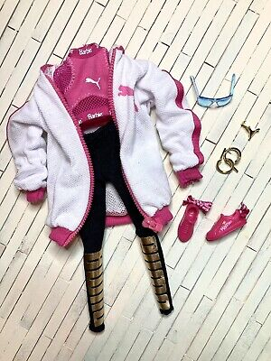 Barbie puma Blonde Outfit new Complete