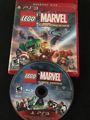 LEGO Marvel Super Heroes (PlayStation 3 2014) PS3 Greatest Hits Manual Included