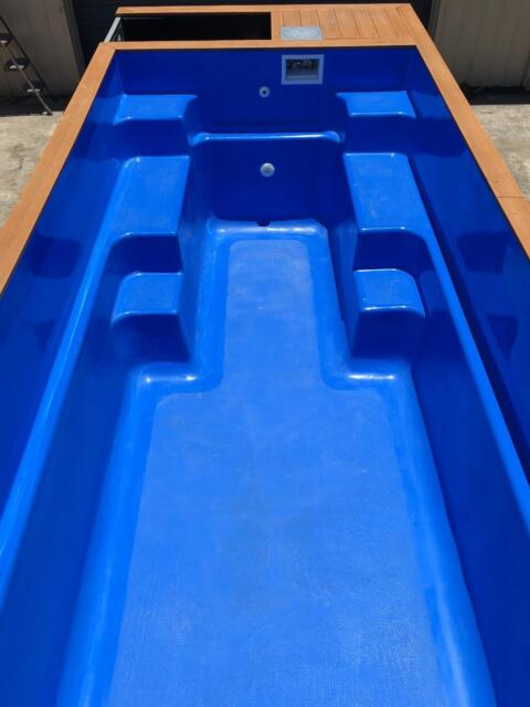 Shipping container swimming pool other home garden for Swimmingpool aus plastik