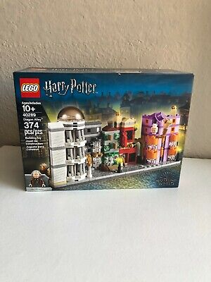 Lego 40289 Limited Edition Harry Potter Diagon Alley New Factory Sealed Box NISB