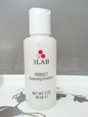 NEW 3LAB Perfect cleansing emulsion 2oz 60ml --FRESH FAST SHIP ()