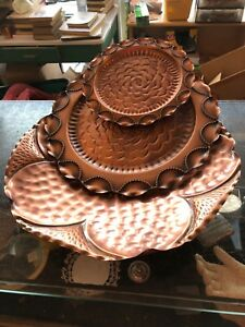 Beautiful solid copper display *vintage*