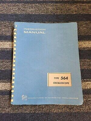 Tektronix Type 564 Oscilloscope Instruction Manual